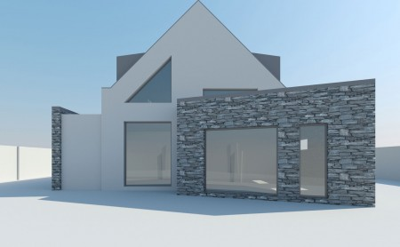 New contemporary dwelling in Davenport.